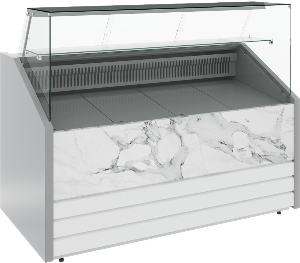 Морозильная витрина CARBOMA COLORE GС75 SL1.5-1 9006-9003 - 12
