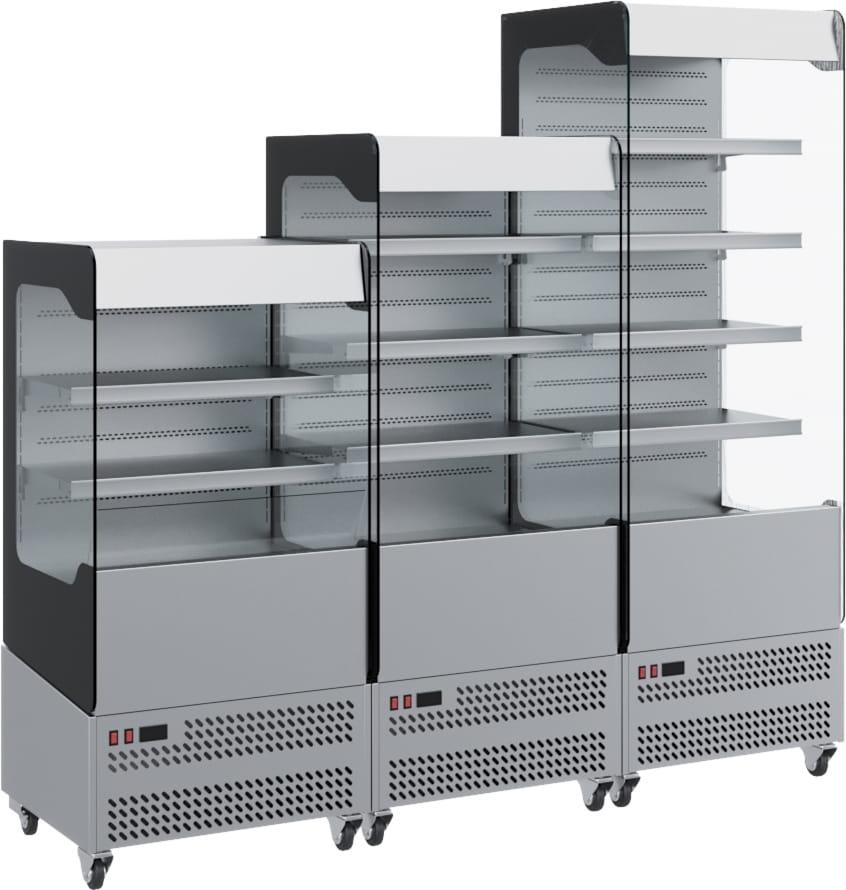 Холодильная горка CARBOMA VIVARA FC 18-06 VM 0.6-2 0430 - 2