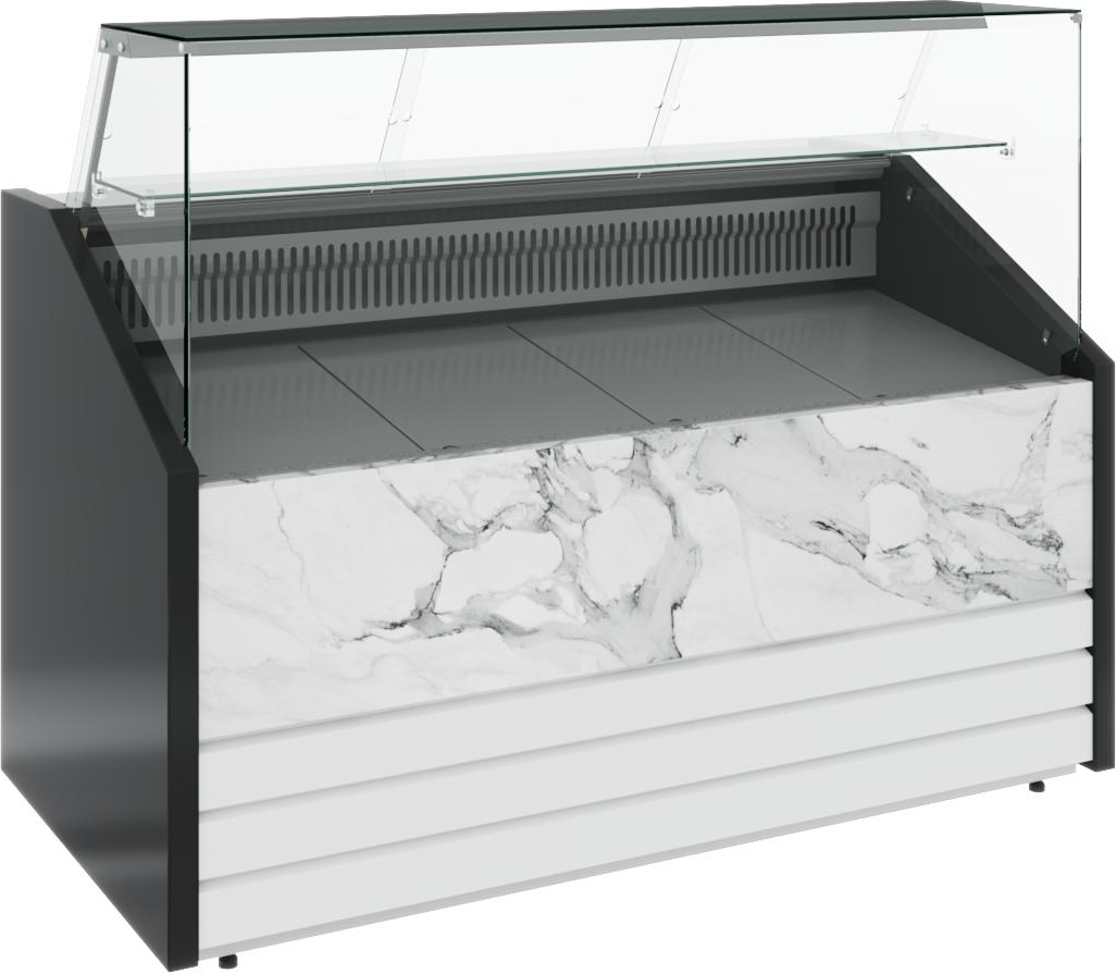 Холодильная витрина CARBOMA COLORE GС75 SM1.2-1 9006-9003 - 12