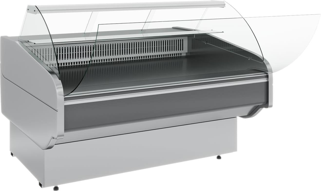 Холодильная витрина CARBOMA ATRIUM G120VM-5(внешнийугол) - 4