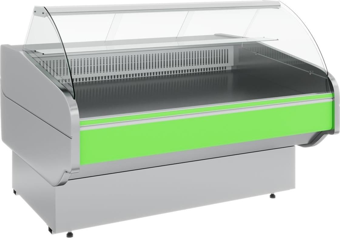Холодильная витрина CARBOMA ATRIUM G120VM-5(внешнийугол) - 2