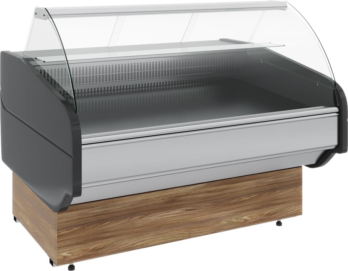 Холодильная витрина CARBOMA ATRIUM G120VM-5(внешнийугол) - 3