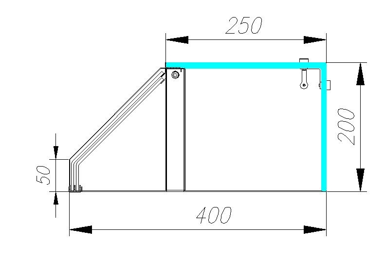 Нейтральная витрина CARBOMA OMI AC40N 2.0-1 - 3