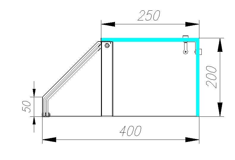 Нейтральная витрина CARBOMA AC40N 2.25-1 - 3