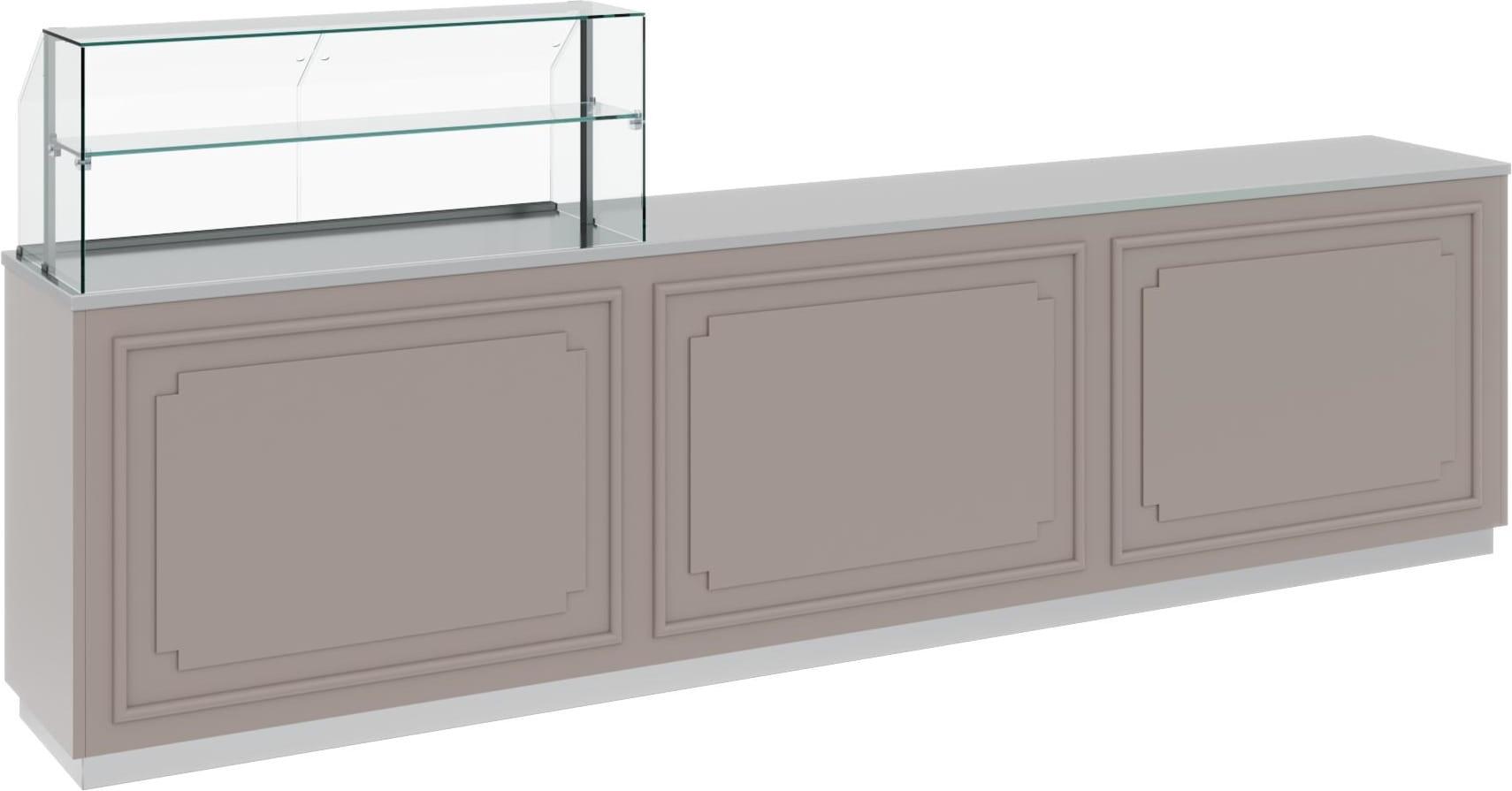 Нейтральная витрина CARBOMA AC40N 1.75-11 - 1