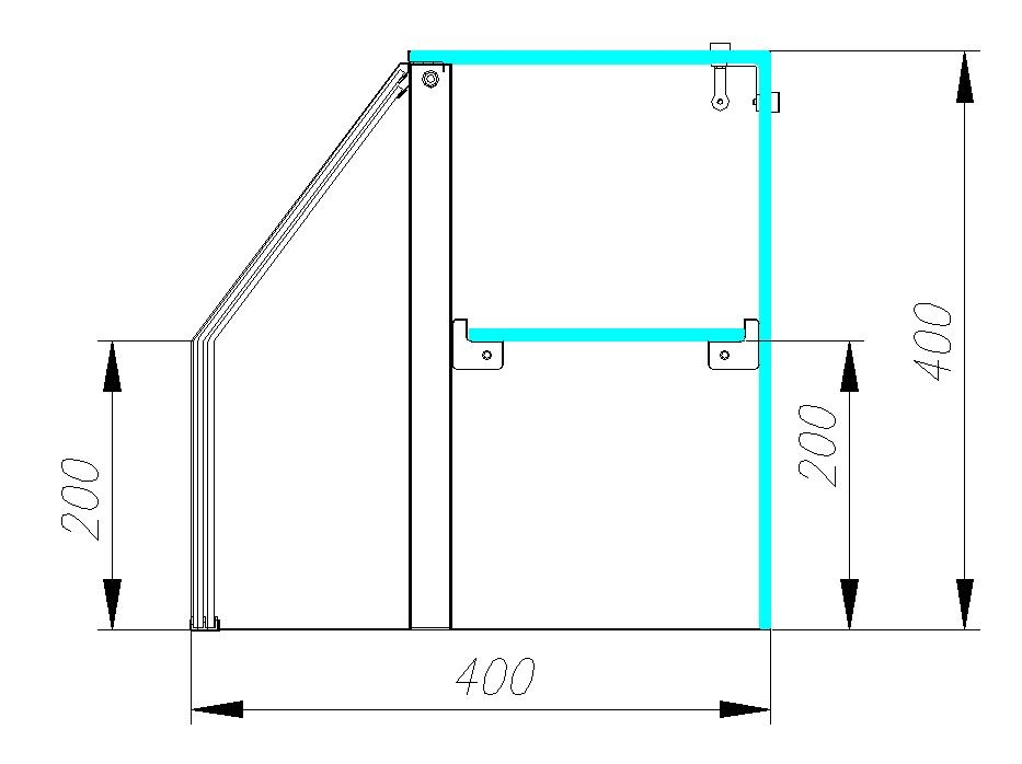 Нейтральная витрина CARBOMA OMI AC40N 2.0-11 - 3