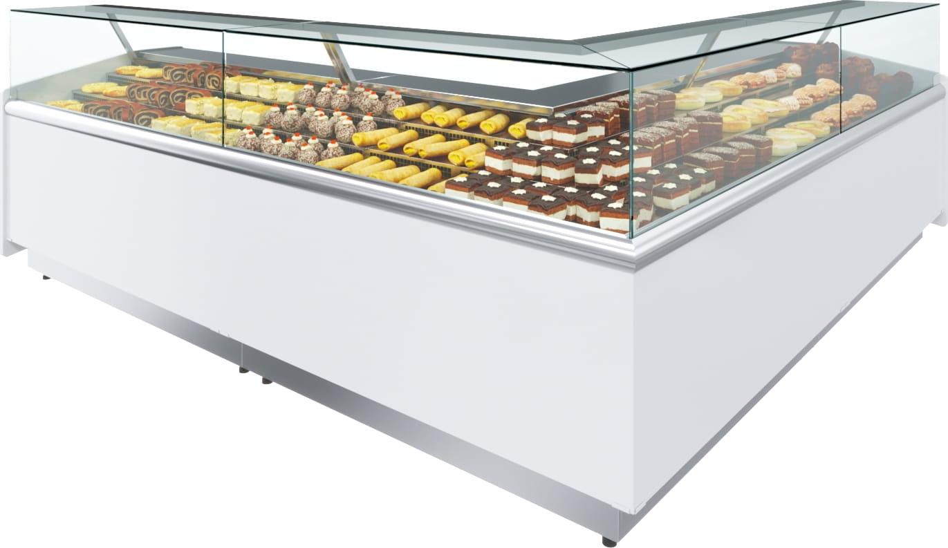Холодильная витрина CARBOMAVISION KC82SM5-02 (левый модуль) - 4