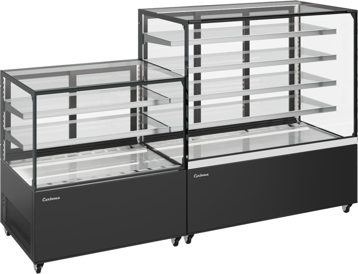 Нейтральная витрина CARBOMA COSMO KC71-150N0.6-1 - 3