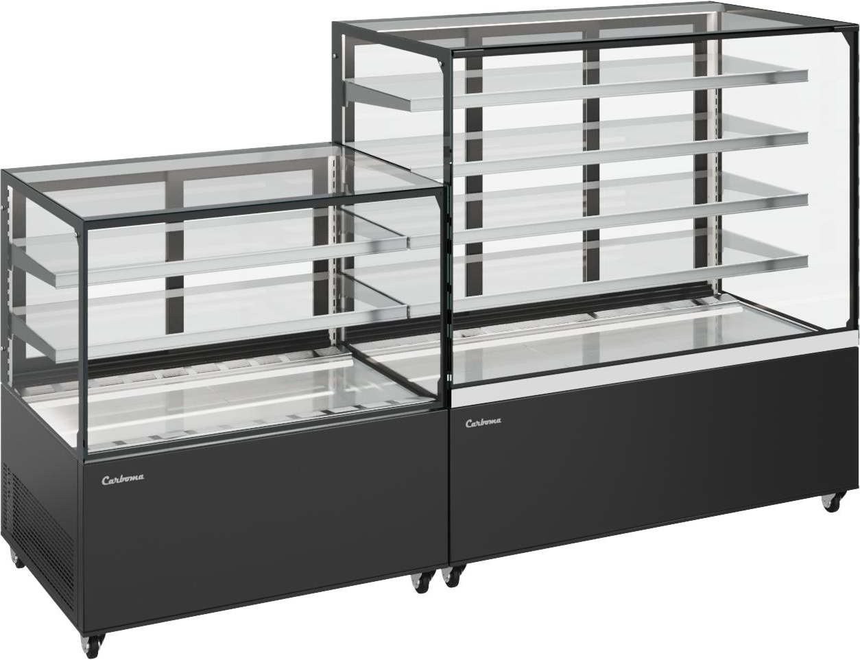 Нейтральная витрина CARBOMA COSMO KC71-150N0.9-1 - 3