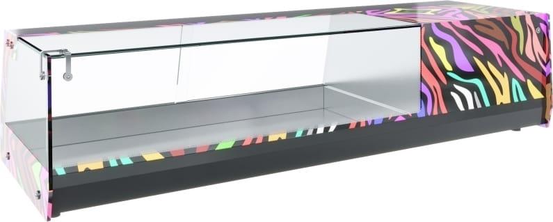 Холодильная витрина CARBOMA CUBE BAR AC37SM1.0-1 - 1