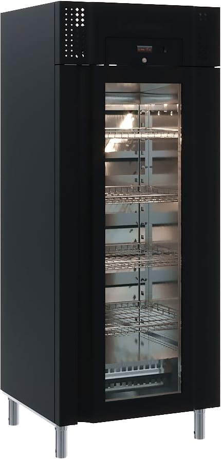 Холодильный шкаф CARBOMA M700GN-1-G-MHC 9005 - 1