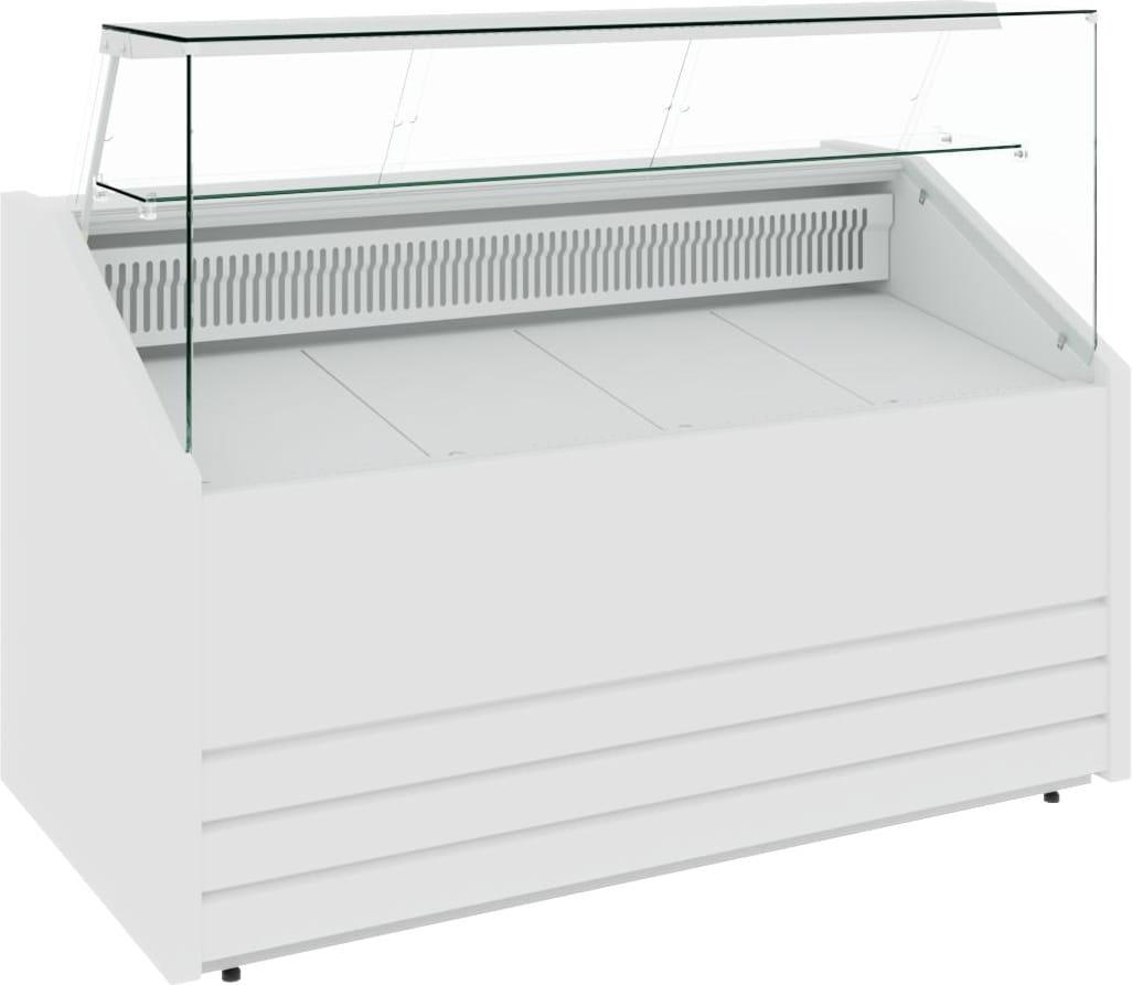 Морозильная витрина CARBOMA COLORE GС75 SL1.8-1 9006-9003 - 10