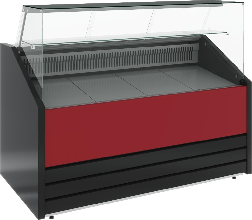 Холодильная витрина CARBOMA COLORE GС75 VV1.8-1 (динамика) 9006-9003 - 10
