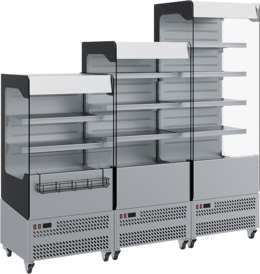 Холодильная горка CARBOMA VIVARA FC 18-06 VM 0.7-2 0430 - 4