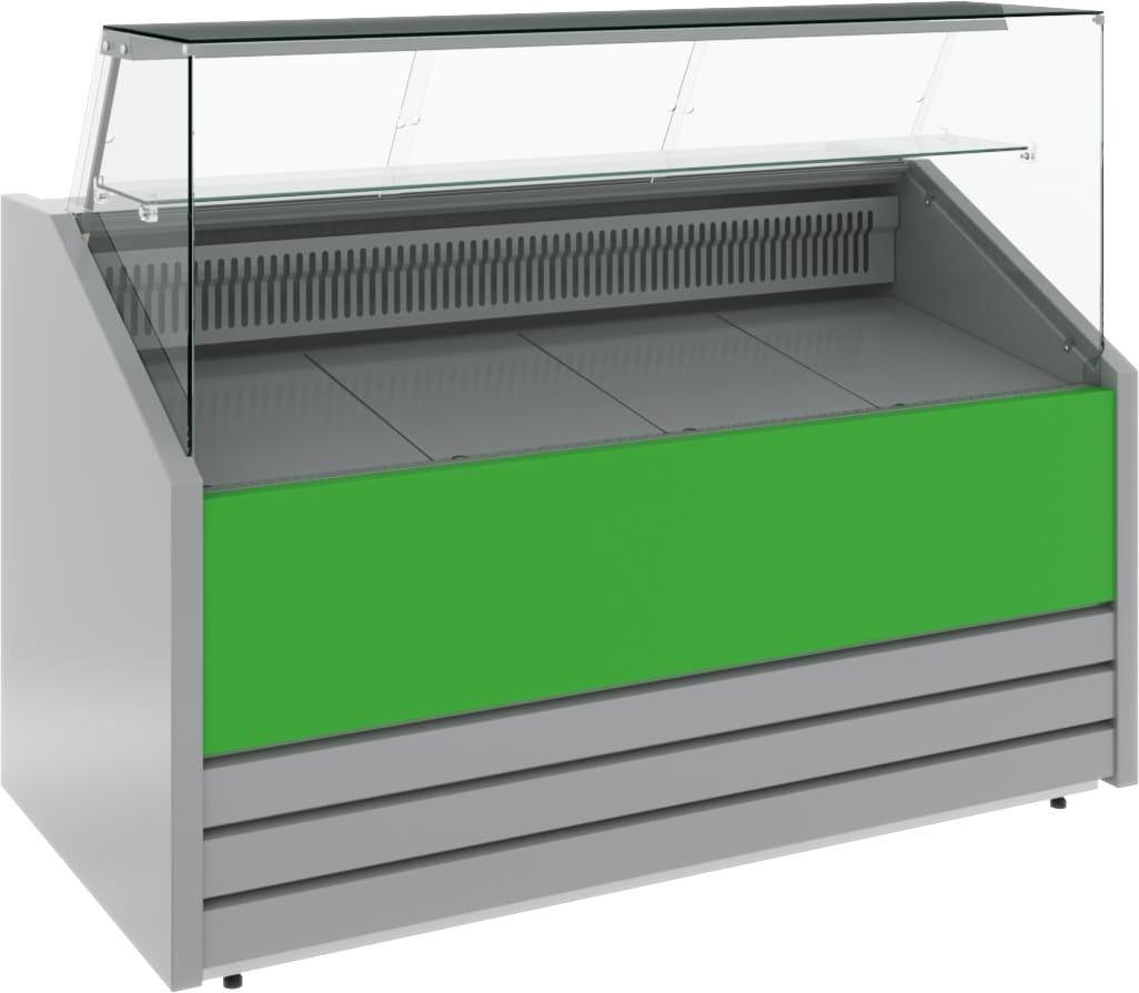 Холодильная витрина CARBOMA COLORE GС75 VM1.2-1 (динамика) 9006-9003 - 4