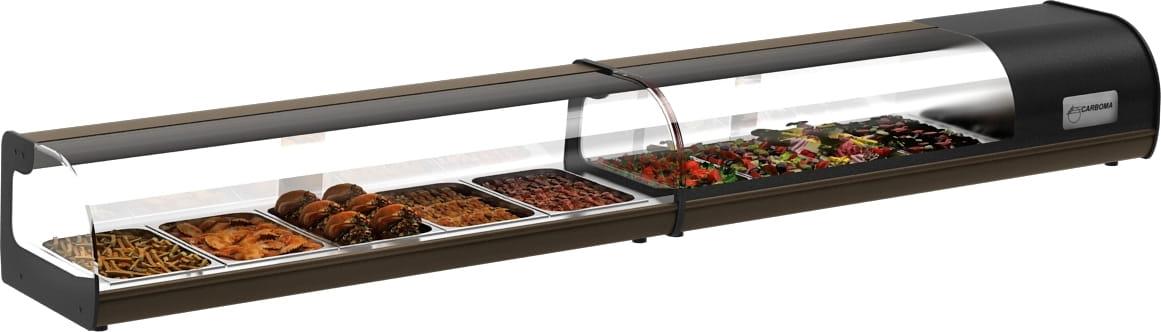 Холодильная витрина CARBOMA ВХСв-1.5 BAR (A37SM1.5-1) - 1