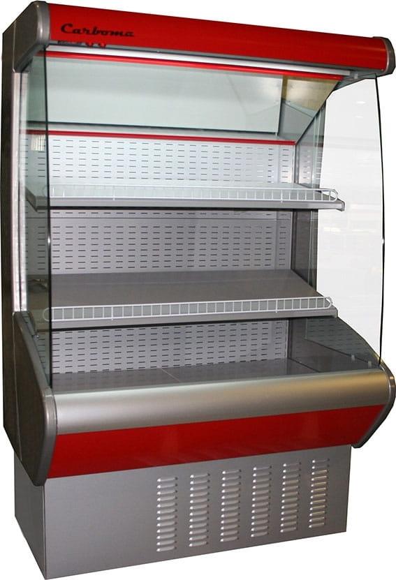 Холодильная горка CARBOMA ВХСп-0.7 CRETE (F20-08VM0.7-2) 0011-3020 - 1