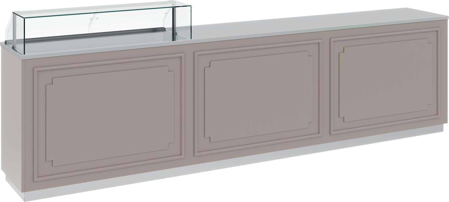 Нейтральная витрина CARBOMA AC40N 1.25-1 - 1