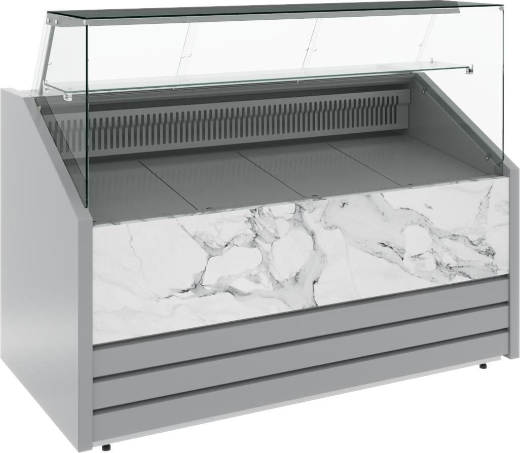 Холодильная витрина CARBOMA COLORE GС75 VM1.2-1 (динамика) 9006-9003 - 13