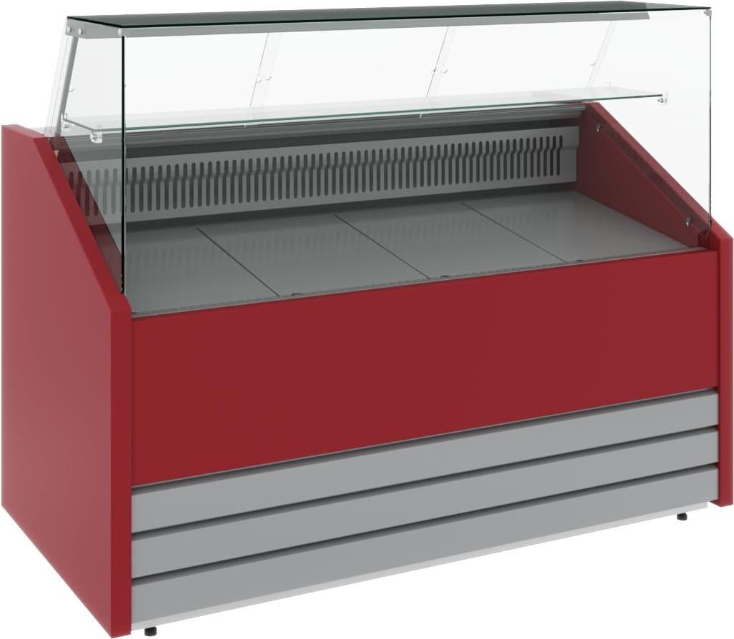 Холодильная витрина CARBOMA COLORE GС75 VM1.0-1 (динамика) 9006-9003 - 2