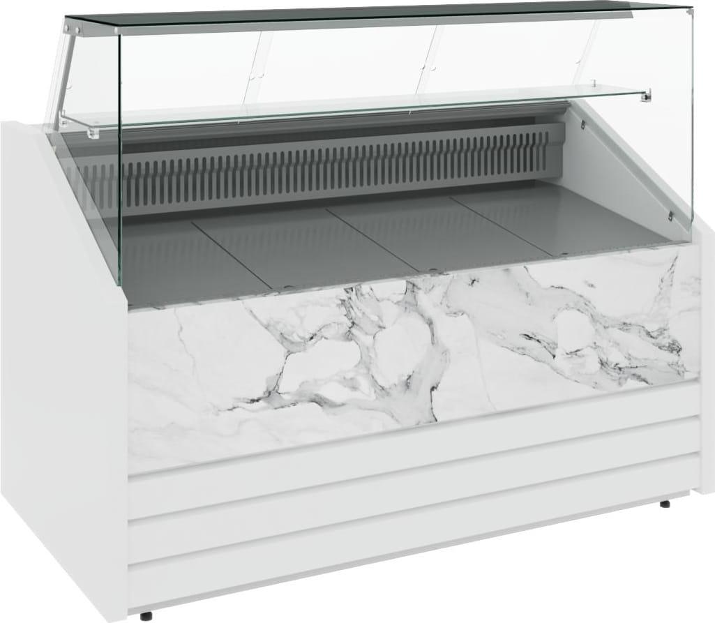 Холодильная витрина CARBOMA COLORE GС75 VM1.0-1 (динамика) 9006-9003 - 15