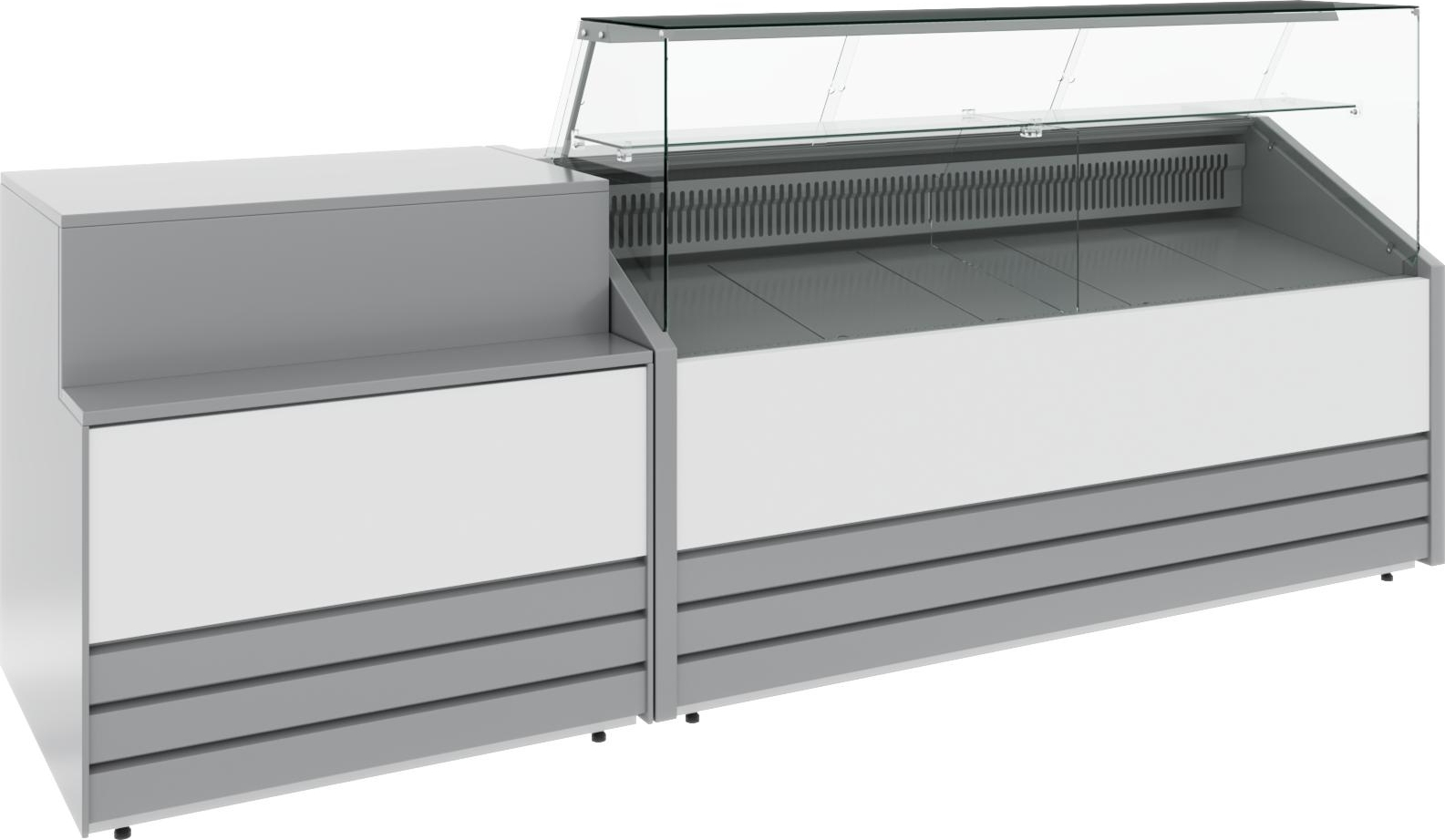 Холодильная витрина CARBOMA COLORE GС75 SM1.8-1 9006-9003 - 15