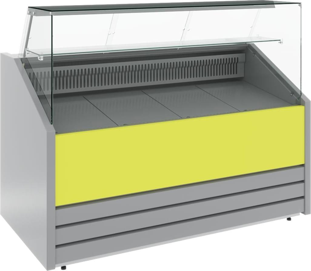 Холодильная витрина CARBOMA COLORE GС75 VM1.2-1 (динамика) 9006-9003 - 5