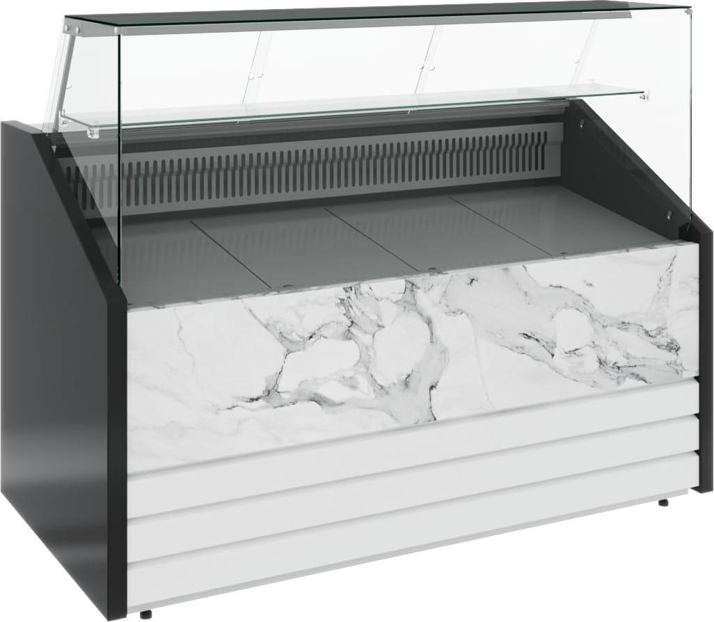 Холодильная витрина CARBOMA COLORE GС75 VM1.0-1 (динамика) 9006-9003 - 12