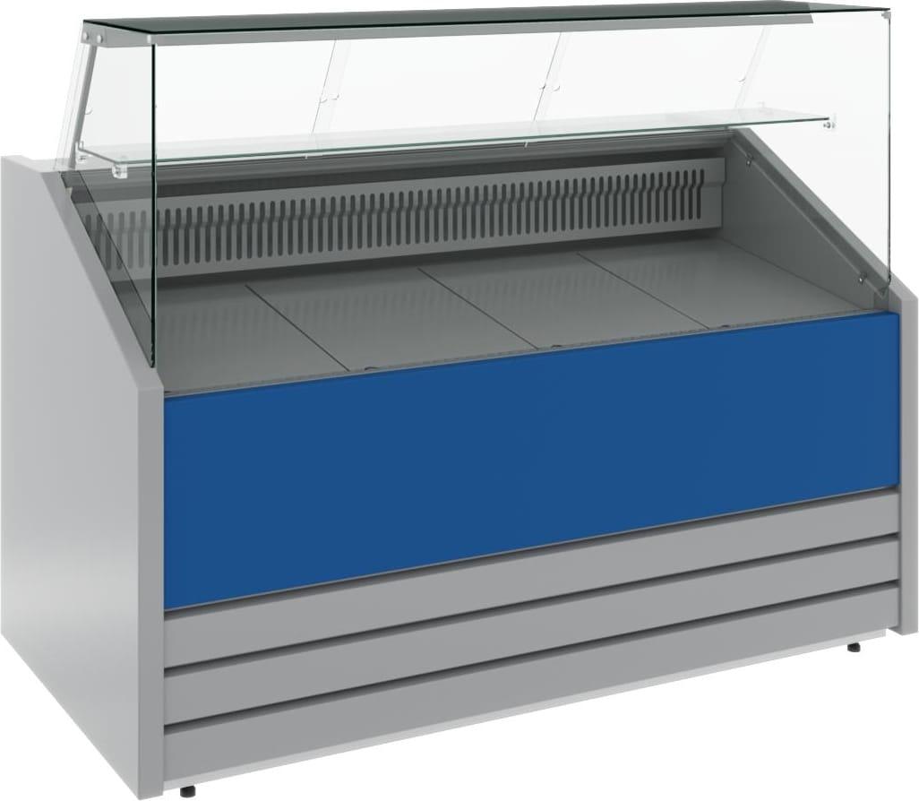 Холодильная витрина CARBOMA COLORE GС75 VM1.0-1 (динамика) 9006-9003 - 3