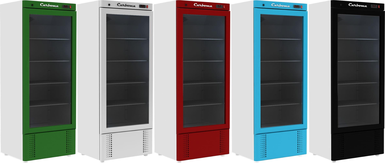Холодильный шкаф CARBOMA V560С - 5