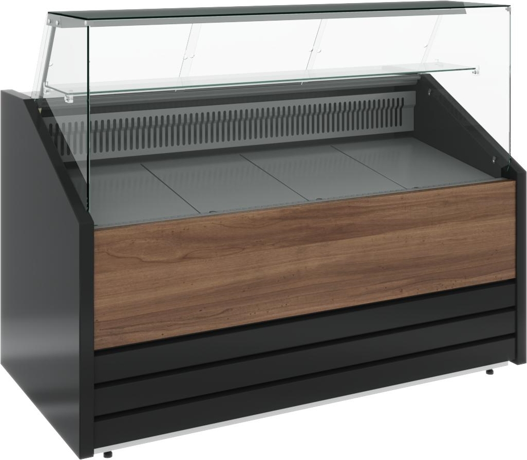 Холодильная витрина CARBOMA COLORE GС75 VV1.0-1 (динамика) 9006-9003 - 8