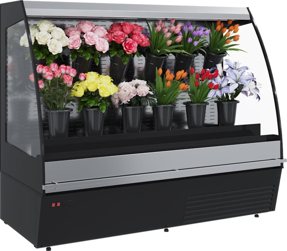 Холодильная горка для цветов CARBOMA TOKYO FLORA F16-08VM1.0-2 0020  - 1