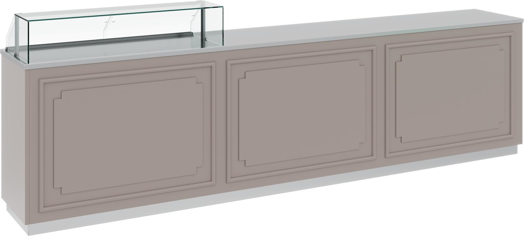 Нейтральная витрина CARBOMA OMI AC40N 1.75-1 - 1