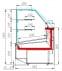 Кондитерская витрина CARBOMACASABLANCA KC95SM1.5-1