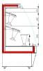 Холодильная горка для цветов CARBOMA FLORA F16-08VM 1.3-2 0020
